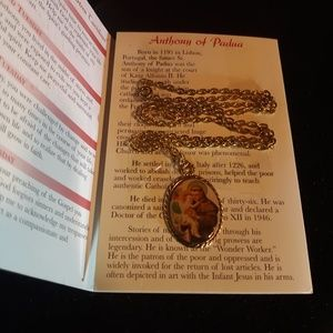 Jewelry - Anthony of Padua Necklace